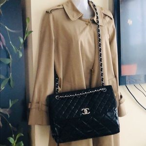 CHANEL In the Business Jumbo Maxi Chain Flap Bag